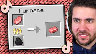 The 57 GREATEST Minecraft Tik Tok Hacks Of All Time