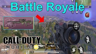 New NA-45 Sniper is so OP 🔥 | COD Mobile Battle Royale | Call of Duty Mobile Battle Royale Gameplay