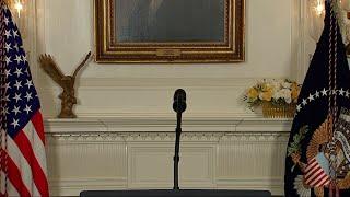 Trump Addresses Nation on Strike Against Syria