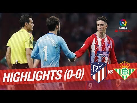 Atlético Madrid vs Real Betis