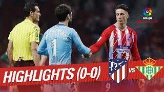 Resumen de Atlético de Madrid vs Real Betis (0-0)