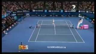 Daniela Hantuchova Vs Ana Ivanovic Semi Final Australian Open 2008 FULL MATCH Part I