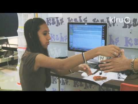 NewsHour student reporting lab at Austin High School