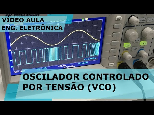 OSCILADOR CONTROLADO POR TENSÃO (VCO) COM PIC | Vídeo Aula #187