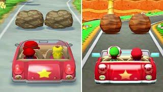Minigame Comparison - Mario Party 6 (GC) Vs. Mario Party: The Top 100