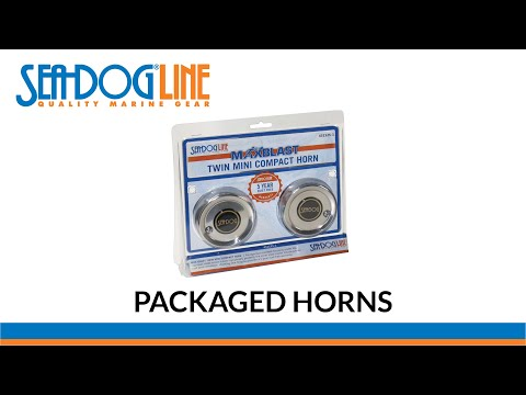 Sea-Dog Packaged Horns