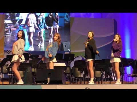 150724 Red Velvet _ Happiness(행복) / 韓・米・豪国 国愛音楽会