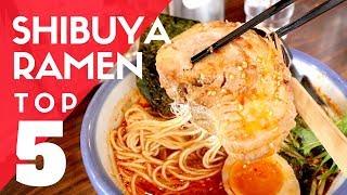 TOP 5 Must-Try TOKYO RAMEN | Shibuya