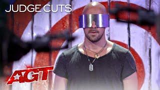 Danger Act Jonathan Goodwin Brings His MOST DANGEROUS Performance?! - America's Got Talent 2020