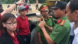 """Nhân viên Công ty địa ốc Alibaba xung đột với cảnh sát tại dự án """"ma""""."""