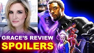 Black Panther SPOILERS Review