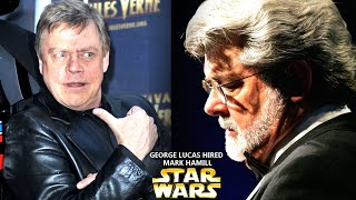 George Lucas Just Hired Mark Hamill Now! (Star Wars Explained)