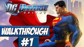 DC Universe Online Walkthrough Ep.1 w/Angel - Character Creation!