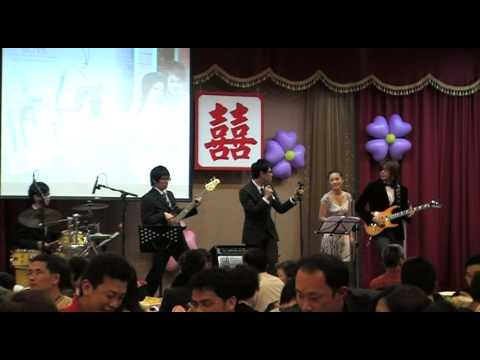 [世界音樂 WorldCreate]Mary樂團 -Wedding Show 4 鄭中基 陳慧琳 - 製造浪漫 & 劉德華 - 結婚進行曲