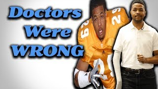 What Happened to Inky Johnson? Doctors Said He'd Never Use His Right Arm Again...THEY WERE WRONG!