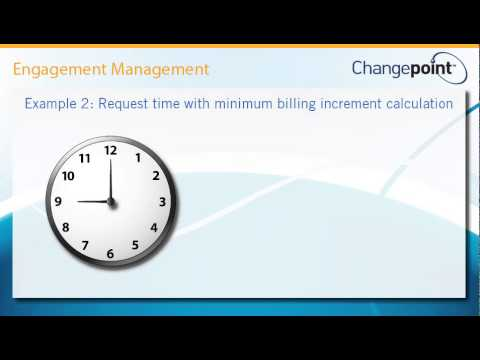 Request Time Calculation for Invoicing in Engagements