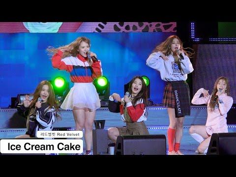 레드벨벳 Red Velvet [4K 직캠]Ice Cream Cake@151028 Rock Music