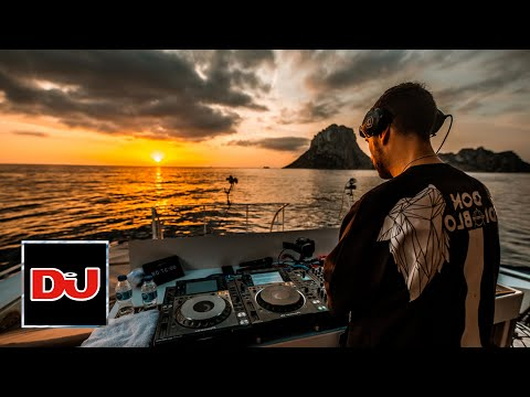Don Diablo sunset DJ set from an epic Ibiza boat
