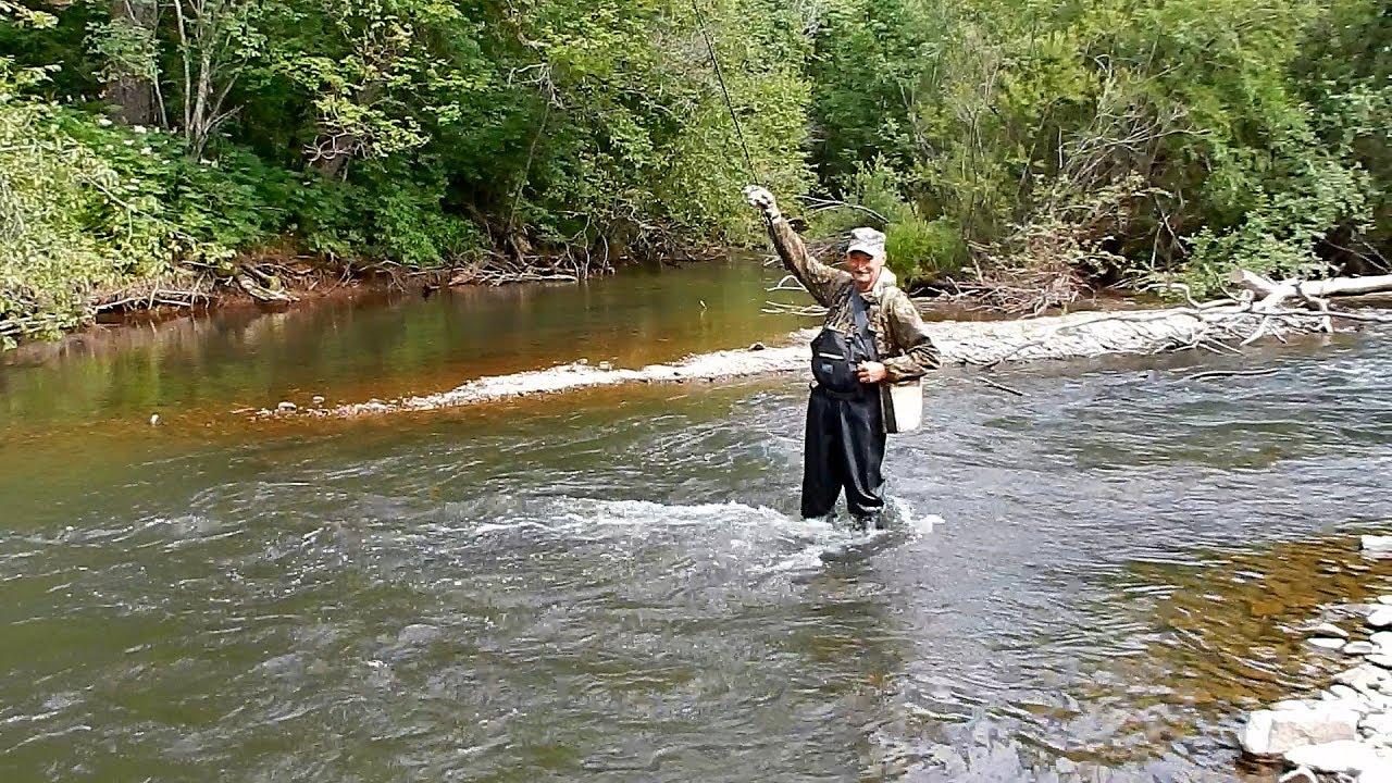 Рыбалка в приморском крае на горных реках