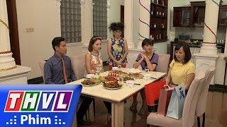 THVL | Những nàng bầu hành động - Tập 36[3]: Cả nhà đang vui vẻ thì bà Xuân lại đưa Thư về
