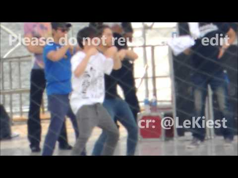 Super Junior sorry sorry rehearsal (eunhae focused fancam) SMTOWN SG 121123