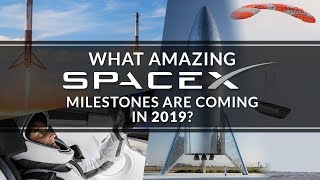 What amazing SpaceX milestones are coming in 2019?