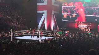 WWE Paige's Entrance Manchester Arena 2015