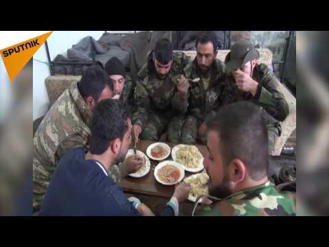 فيديو.. هذا ما يتناوله افراد الجيش ...