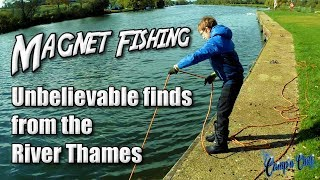 Magnet Fishing Unbelievable Finds from the River Thames ⚓🎣🇬🇧 Camp'n Chill