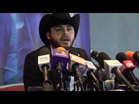 GERARDO ORTIZ-CONFERENCIA DE PRENSA SOBRE VIDEO