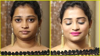 Get Ready with me in 10 Minute for Party | Makeup Tutorial | Glittery Eye Makeup