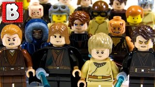 Every Lego Anakin Skywalker Minifigure Ever!!! Rare Light-up Anakin | Collection Review