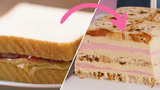 Can This Pastry Chef Transform Peanut Butter & Jelly Into A New Dessert? • Tasty
