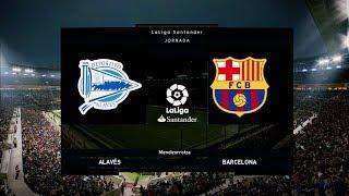 Alaves vs Barcelona - La Liga 23 April 2019 Gameplay