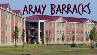 UPDATED ARMY/DORM BARRACKS TOUR