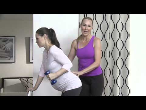 Rosie Pope MomPrep with Andrea Orbeck - Big Belly Doesn't Equal Bad Back