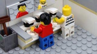 Lego Toilet Fail -  Unlucky Lego Man