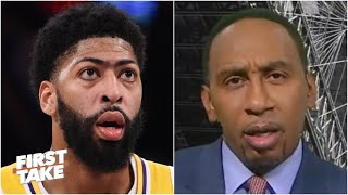 People are looking at Anthony Davis with a raised eyebrow - Stephen A. | First Take