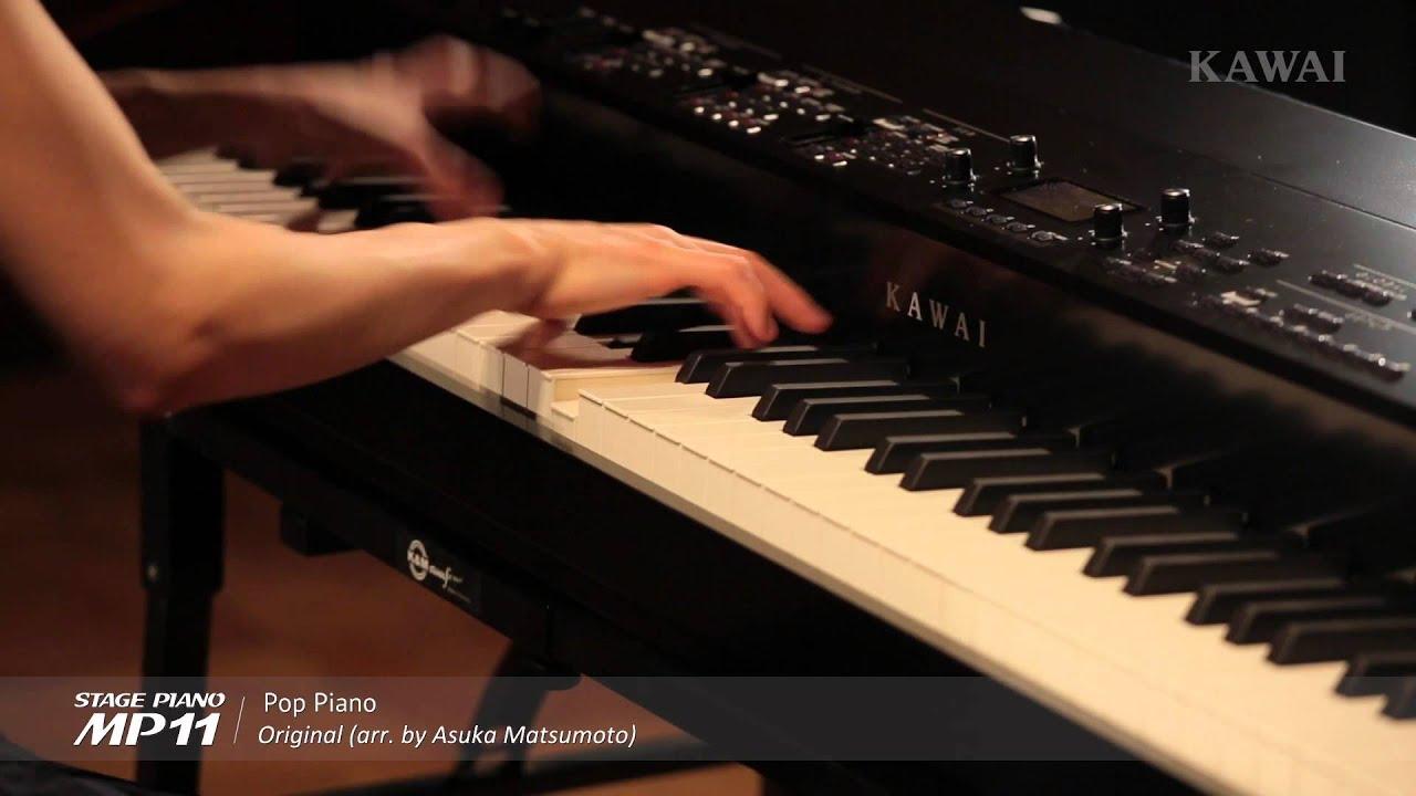 kawai mp11 pop piano original youtube. Black Bedroom Furniture Sets. Home Design Ideas