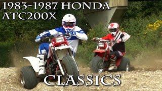 1983 1987 Honda ATC200X Classics Test