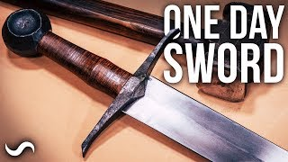 CAN I MAKE A SWORD IN ONE DAY?!?!