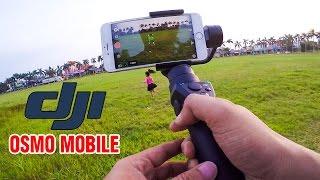 DJI Osmo Mobile ▶ Đỉnh cao Tự sướng Du lịch và Quay phim Trẻ em cùng iPhone 7