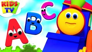 Learn Abc | Bob  The Train | Learning Videos For Children | Cartoons by Kids Tv