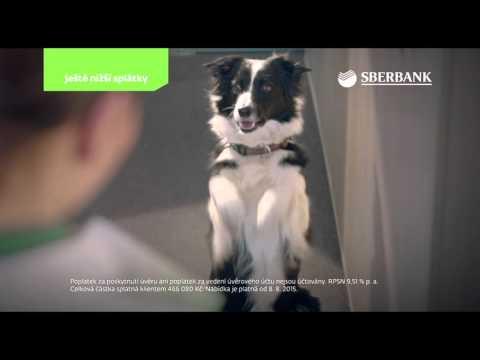 Sberbank CZ – reklamní spot – půjčky – únor 2016