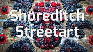 LONDON    STREET ART: Shoreditch, East London