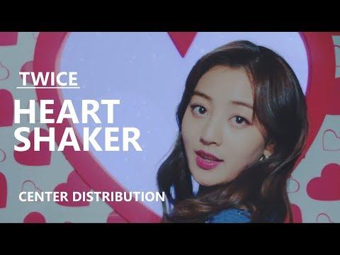 TWICE (트와이스) - HEART SHAKER [Center Distribution]