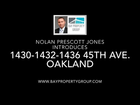Introducing 1430, 1432, 1436 45th Ave. in Oakland, CA by Bay Property Group