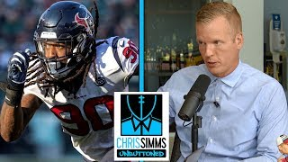 Seahawks, Eagles are best suitors for Jadeveon Clowney | Chris Simms Unbuttoned | NBC Sports
