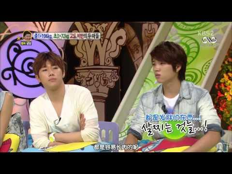 [中字] 130722 WooHyun &Sung Kyu@KBS2 Hello Cut