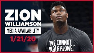 Zion Williamson Interview Ahead of NBA Debut vs Spurs | New Orleans Pelicans